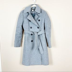 J. Crew | Stadium Cloth Double Breasted Coat
